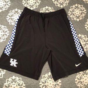 Kentucky Wildcats Team-issued shorts